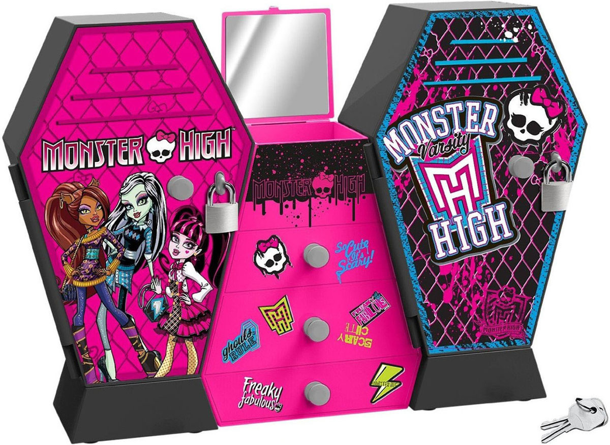 IMC Toys Шкаф с ключом Monster High