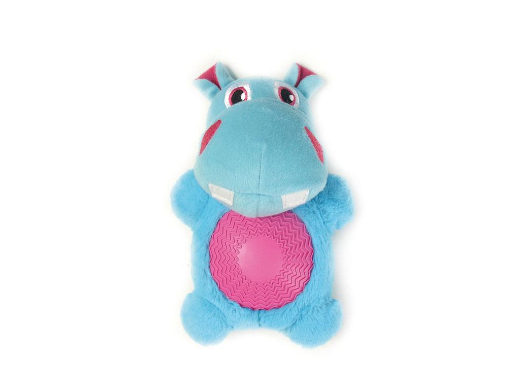 Игрушка для собак Aveva Бегемот, с пищалкой0120710Игрушка для собак Aveva, выполненная в виде забавного Бегемота с пищалкой, изготовлена из резины с добавлением полиэстера. Такая игрушка позволит весело провести время вашему питомцу, а также поможет вам сохранить в целости личные вещи и предметы интерьера. Яркая игрушка привлечет внимание вашего любимца, не навредит здоровью, и займет его на долгое время. Высота игрушки: 21 см.Товар сертифицирован.