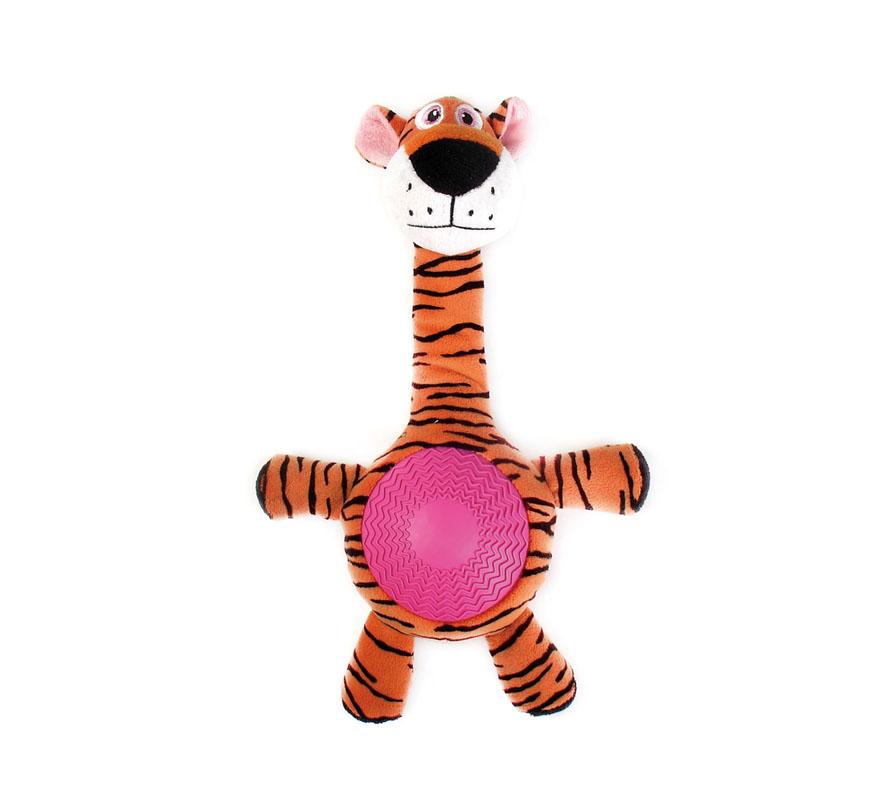 Игрушка для собак Aveva Тигр, с пищалкой12171996Игрушка для собак Aveva, выполненная в виде забавного тигра с пищалкой, изготовлена из резины с добавлением полиэстера. Такая игрушка позволит весело провести время вашему питомцу, а также поможет вам сохранить в целости личные вещи и предметы интерьера. Яркая игрушка привлечет внимание вашего любимца, не навредит здоровью, и займет его на долгое время. Высота игрушки: 21 см.Товар сертифицирован.