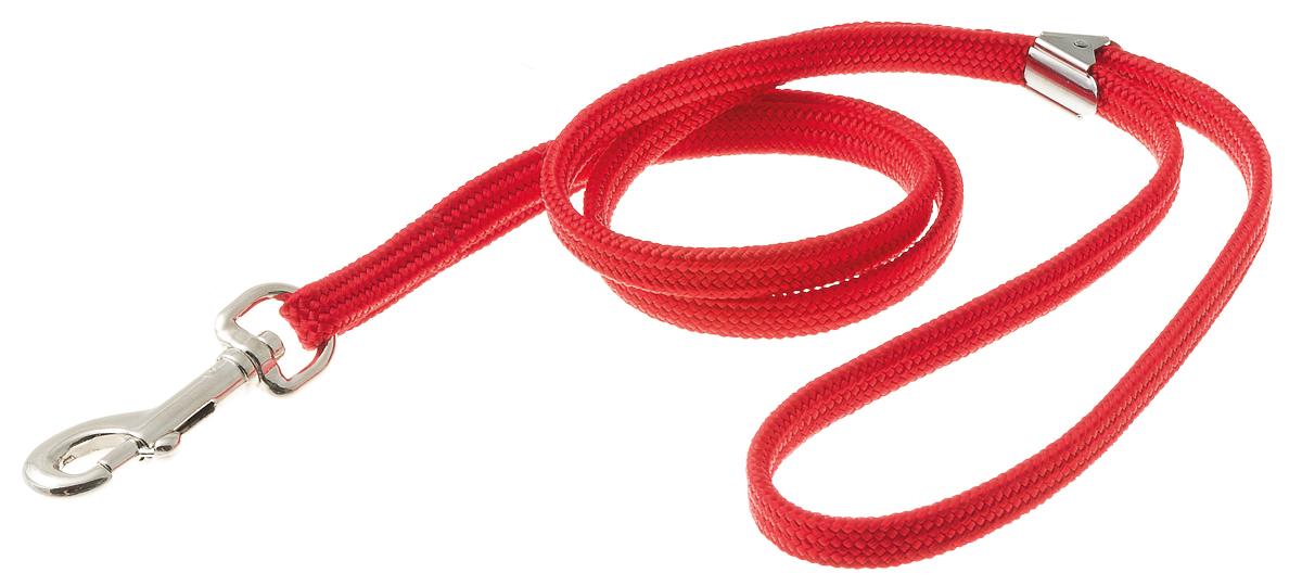 Петля ринговочная V.I.Pet для груминг стойки-кронштейна, с прищепкой, цвет: красный, длина 50 см0120710Петля ринговочная с прищепкой V.I.Pet, изготовленная из нейлона и стали, предназначена для груминг стойки-кронштейна. Подойдет для собак средних и крупных пород.Ринговочная петля фиксируется на кронштейне.Длина: 50 см.