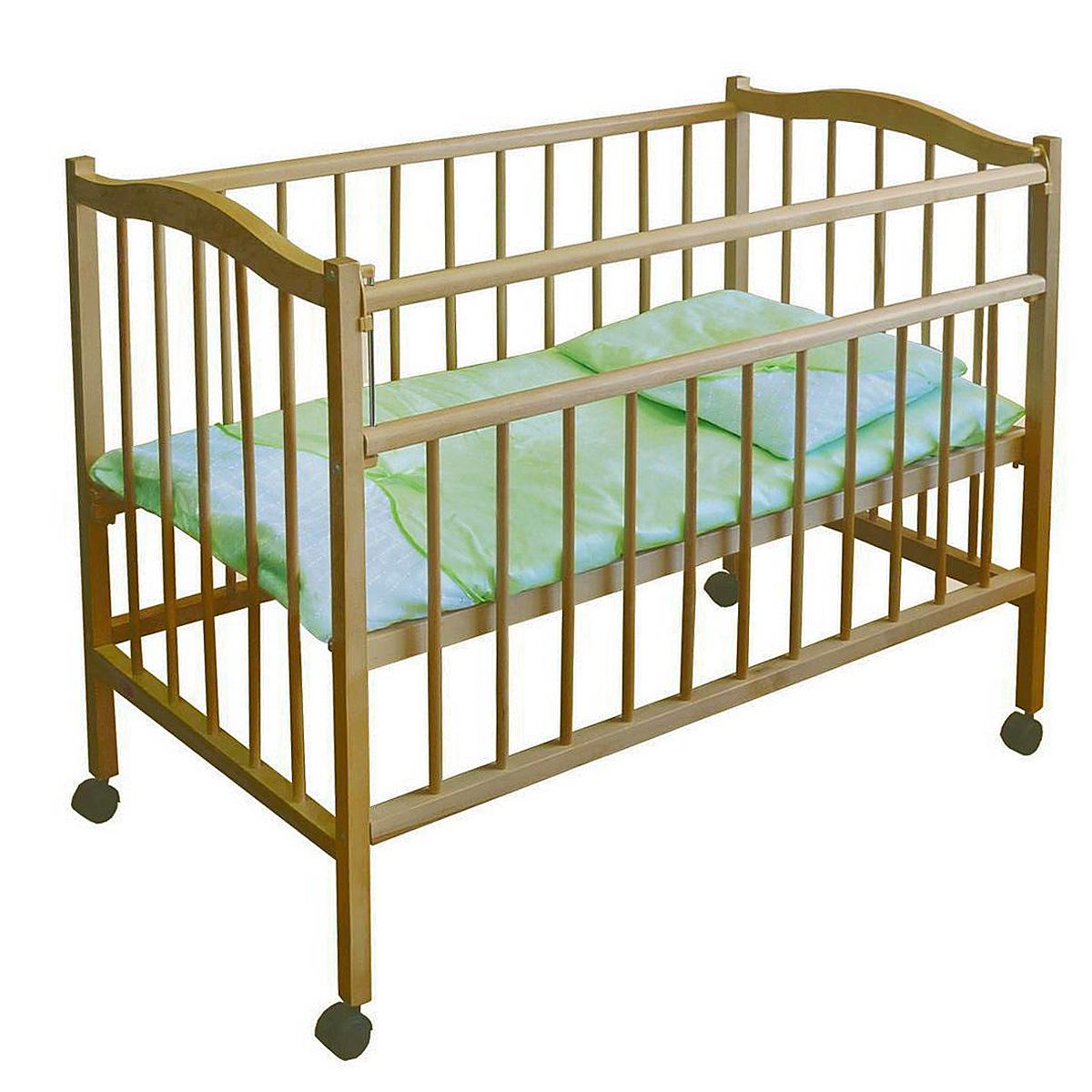 Кроватка детская  Фея 203 , из березы -  Кроватки и колыбели