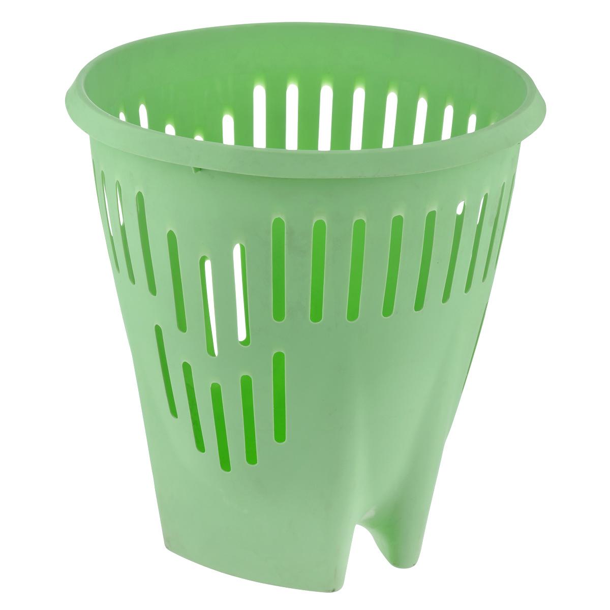 Корзина для бумаг Hega Hogar, цвет: салатовый, 15 л13210_салатовыйКорзина Hega Hogar выполнена из пластика и предназначена для сбора мелкого мусора и бумаг. Стенки корзины оформлены перфорацией. Такая корзина прекрасно впишется в интерьер гостиной, спальни, офиса или кабинета. Диаметр корзины: 31,5 см. Высота корзины: 33 см.