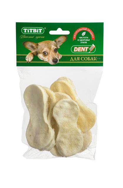 Лакомство для собак Titbit, говяжьи чипсы0120710Высушенная говяжья кожа в форме чипсов. Упаковка содержит 6-8 штук. Благодаря большому содержанию аминокислот и коллагена положительно воздействует на хрящевую ткань, состояние кожи и шерсти собаки. Способствует снятию зубного камня. Хорошо развивает челюсти.Состав: Высушенная говяжья кожа.