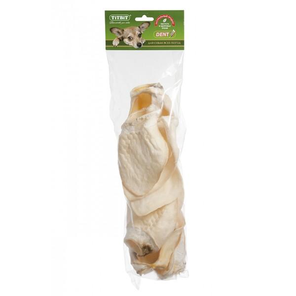 Лакомство для собак Titbit, говяжье ухо XXL, 4 шт9090Упаковка содержит 4 говяжьих уха. Высокое содержание коллагеновых и эластиновых волокон обеспечивает поступление в организм незаменимых компонентов для роста и поддержания качества хрящевой ткани суставов вашего питомца. Высокое содержание коллагена и эластина способствует улучшению формирования ушного хряща для пород собак, стандартом которых предусмотрен вертикальный постав ушной раковины.Состав: Высушенное ухо говяжье.