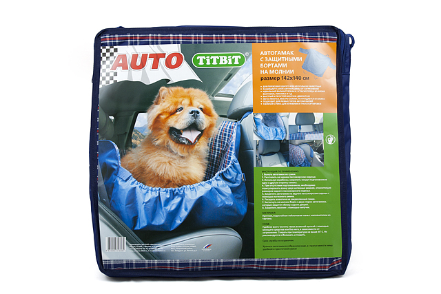 Автогамак для собак Titbit, с бортами, цвет: синий, 142 х 140 см0120710Автогамак для собак Titbit изготовлен из прочного водостойкого материала с утеплителем внутри и дополнительными защитными боковыми бортами, фиксирующимися с помощью молний и липучек. Легко монтируется при помощи ремней на заднем сидении автомобиля, защищая его от загрязнений. Незаменим при транспортировке животного на дачу, в ветклинику, после прогулок на природе, также может служить лежаком или пледом.Подходит для любых типов автомобилей. Размер гамака: 142 х 140 см.