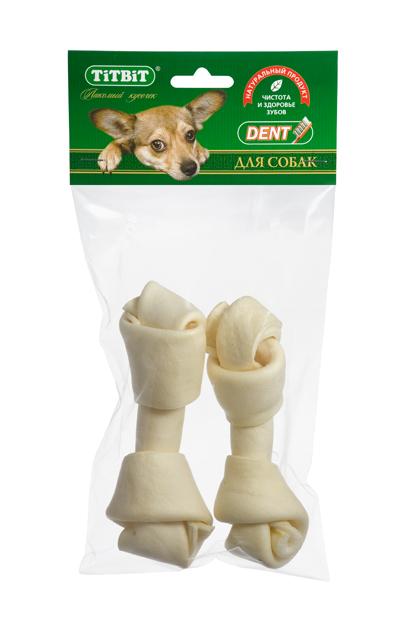 Лакомство для собакTitbit, кость узловая №4, 2 шт39447Высушенная говяжья кожа, свернутая в форме кости размером 130-150 мм. В упаковке 2 штуки. Благодаря большому содержанию аминокислот и коллагена положительно воздействует на состояние кожи и шерсти собаки, а такжеобеспечивает поступление в организм незаменимых компонентов для роста и поддержания качества хрящевой ткани суставов собак. Способствует укреплению дёсен, удалениюзубного налёта и профилактике образования зубного камня.Состав: Высушенная говяжья кожа.