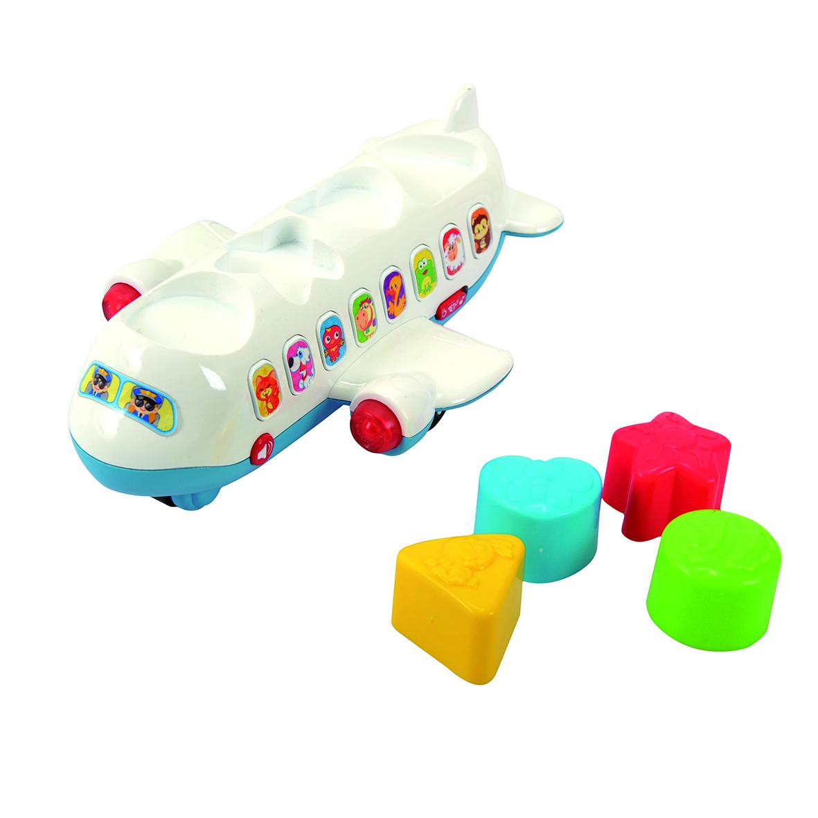 Playgo Развивающая игрушка Самолет-сортер playgo развивающая игрушка самолет сортер