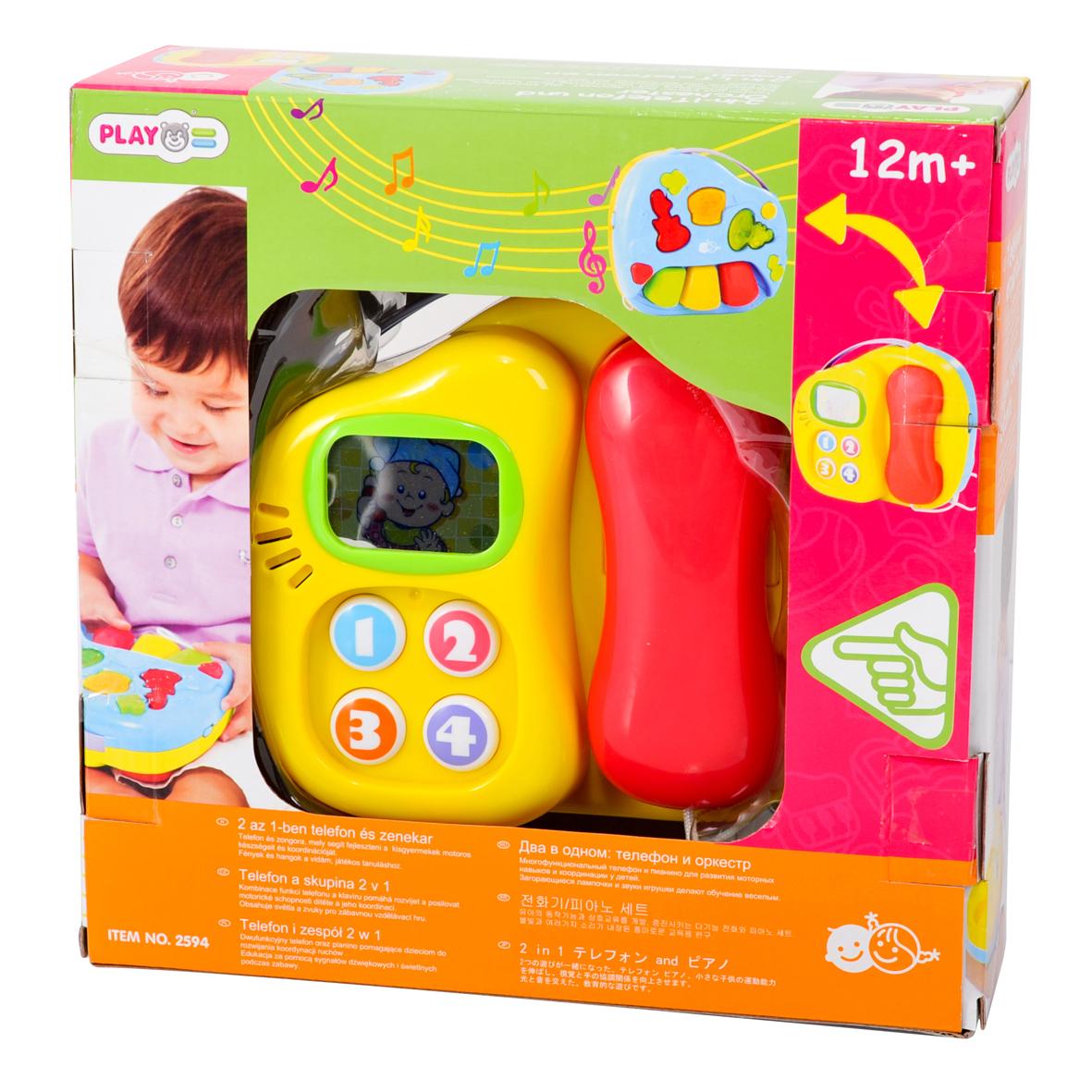 Playgo Игровой развивающий центр Телефон и оркестр игровые центры для малышей playgo игровой центр телефон и оркестр