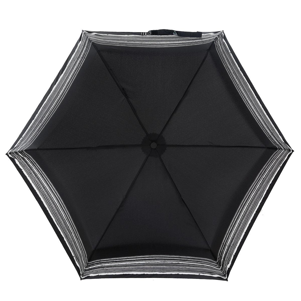 Зонт женский Fulton Superslim-2. Trio, механический, 3 сложения, цвет: черный, белый. L780-289645100088/18072/1000NМодный механический зонт Superslim-2. Trio даже в ненастную погоду позволит вам оставаться стильной и элегантной. Каркас зонта состоит из 8 спиц из фибергласса и металлического стержня. Купол зонта выполнен из прочного полиэстера. Изделие оснащено тремя сменными рукоятками из пластика, кожи и дерева. Зонт механического сложения: купол открывается и закрывается вручную до характерного щелчка.Модель закрывается при помощи одного ремня с липучкой. К зонту прилагается чехол на липучке. Модный зонтик комплектуется картонной коробкой с прозрачным пластиковым окошком.Такой зонт не только надежно защитит вас от дождя, но и станет стильным аксессуаром, который идеально подчеркнет ваш неповторимый образ.