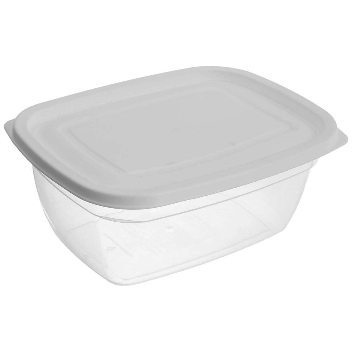 Контейнер Dunya Plastik, цвет: белый, 2,5 лСП-06 вар.3Пищевой контейнер Dunya Plastik изготовлен из высококачественного пищевого пластика, который выдерживает температуру от -40°С до +100°С. Контейнер безопасен для здоровья, не содержит BPA. Контейнер имеет прямоугольную форму и оснащен плотно закрывающейся крышкой. Изделие подходит для контакта с пищевыми продуктами. Можно мыть в посудомоечной машине.