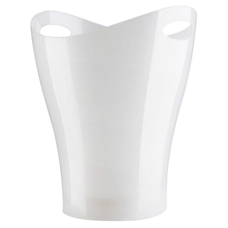 Контейнер мусорный Umbra Garbino белый металлик18211Umbra Garbino, изготовленный из полипропилена, вмещает до 9 литров. Ручка в виде отверстия на верхней части ведра удобна при переноске.Привычные мусорные корзины в виде старых ведер из-под краски или ненужных корзин давно в прошлом. Каждый элемент в современном доме должен иметь определенный смысл, быть креативным и удобным. Вплоть до мусорного ведра. Размеры: 25 х 33 х 25 см