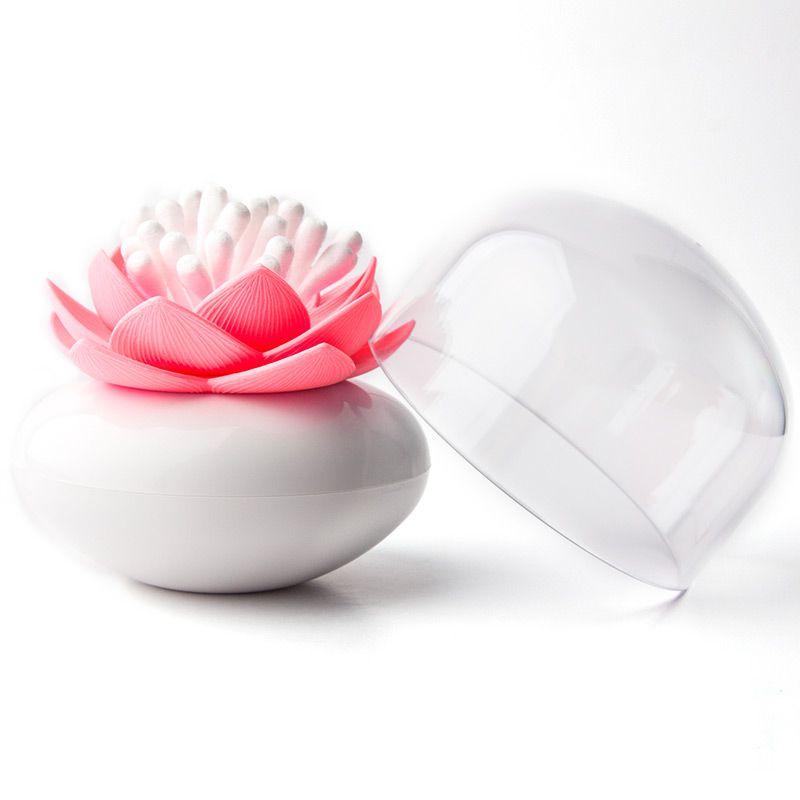 Контейнер для хранения ватных палочек Lotus белый/розовый1004900000360Контейнер для хранения ватных палочек Lotus помимо своих основных функций, будет прекрасным элементом декора для Вашей спальни или ванной комнаты.Материал: пластик; цвет: розовый