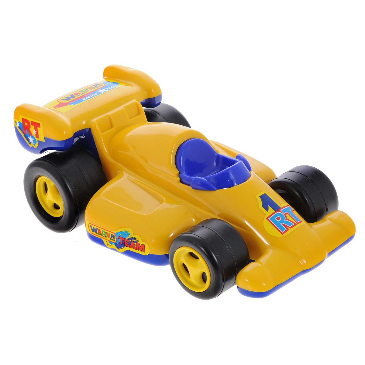 Полесье Машинка Формула цвет желтый синий