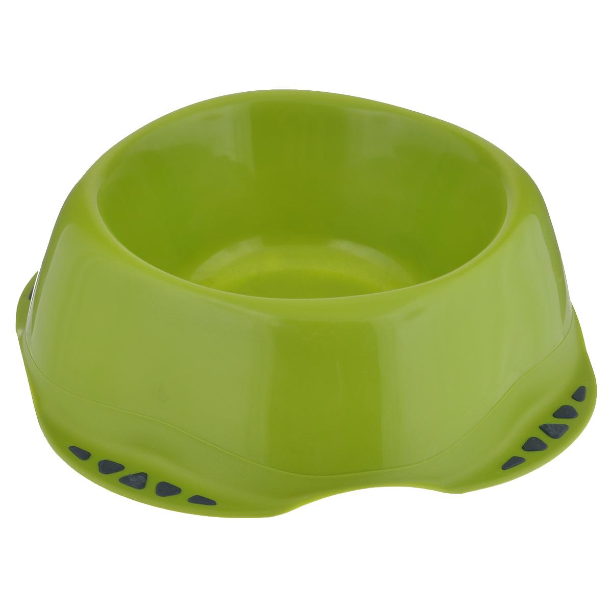 Миска для животных MPS Maya M, цвет: салатовый, 0,6 л0120710Миска для животных MPS Maya M изготовлена из цветного пластика, не впитывающего посторонние запахи. Подходит как для кошек, так и для собак, хорьков, кроликов, морских свинок. На дне имеются противоскользящие резиновые вставки. Миска для животных MPS Maya M, подойдет как для корма, так и для воды.Объем: 0,6 л. Диаметр (по верхнему краю): 14,5 см. Диаметр основания: 21,5 см. Высота миски: 6,5 см.Товар сертифицирован.