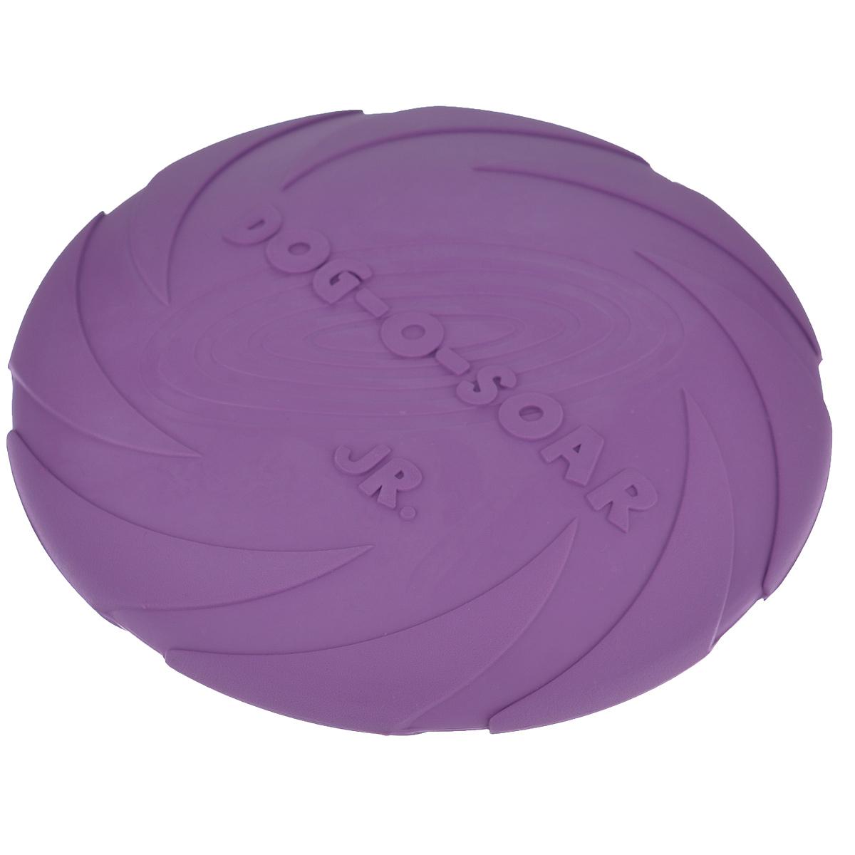 Игрушка для собак I.P.T.S. Фрисби, цвет: сиреневый, диаметр 18 см101246Игрушка I.P.T.S. Фрисби, выполненная из резины, отлично подойдет для совместных игр хозяина и собаки. В отличие от пластиковых, такая Фрисбине образует острых зазубрин и трещин, способных повредить десны питомца. Совместные игры укрепляют взаимоотношение и понимание. Давая новую игрушку вашему питомцу, не оставляйте животное без присмотра, не убедившись, что собака не может разгрызть данную игрушку. Диаметр: 18 см.