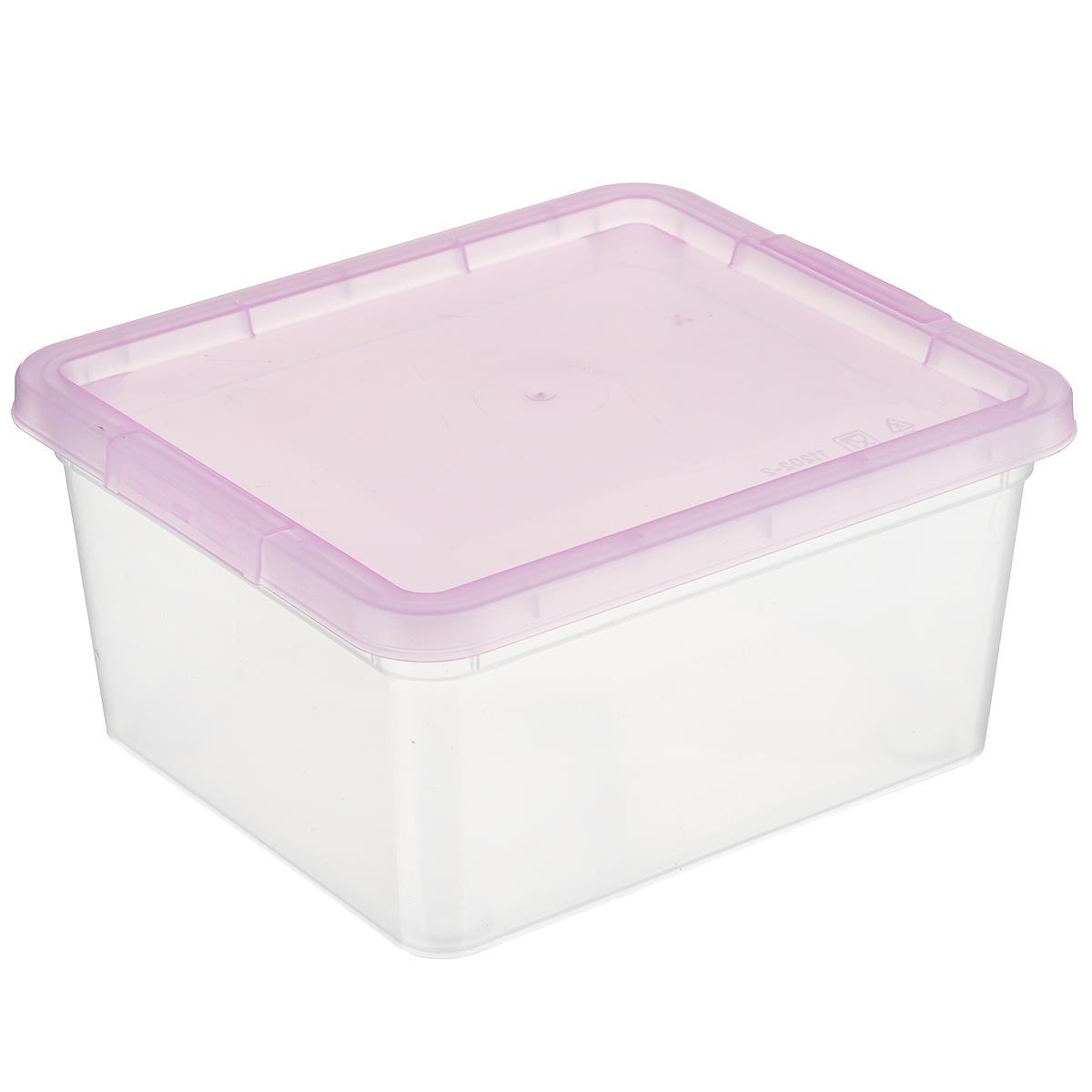 Коробка для мелочей Полимербыт, цвет: розовый, 1,9 лRG-D31SКоробка для мелочей Полимербыт изготовлена из прочного пластика. Стенки изделия прозрачные, что позволяет видеть содержимое. Цветная полупрозрачная крышка плотно закрывается и легко открывается. Коробка идеально подходит для хранения различных мелких бытовых предметов, таких как канцелярские принадлежности, аксессуары для рукоделия и т.д. Такая коробка сохранит все мелкие предметы в одном месте и поможет поддерживать в доме порядок.