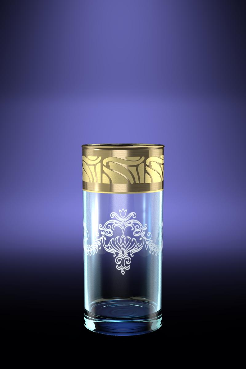 Набор 6 стаканов для сока с рисунком Мускат 290 млVT-1520(SR)Набор 6 стаканов для сока с рисунком Мускат 290 мл стекло