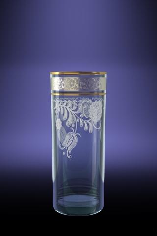 Набор 6 стаканов для сока ГЕО с рисункомНежность 350 млVT-1520(SR)Набор 6 стаканов для сока ГЕО с рисункомНежность 350 мл стекло