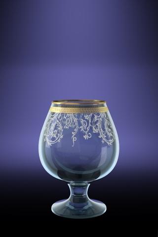 Набор 6 бокалов для бренди с рисунков Каскад 400 млVT-1520(SR)Набор 6 бокалов для бренди с рисунков Каскад 400 мл стекло