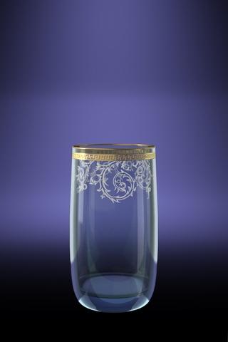 Набор 6 стаканов для сока Эдем с рисунком Каскад 330 млVT-1520(SR)Набор 6 стаканов для сока Эдем с рисунком Каскад 330 мл стекло