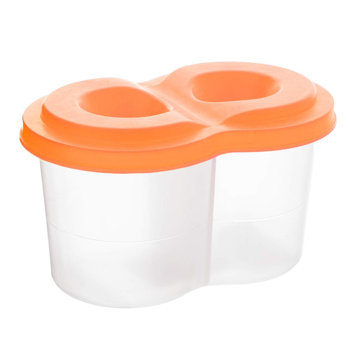 """Стакан-непроливайка """"Луч"""", двойной станет незаменимым атрибутом в процессе рисования детского шедевра. Стакан имеет два отделения для чистой и грязной воды, а также оснащен плотно прилегающей крышкой, на которой есть специальные отверстия для кисточек. Cтенка стакана оснащена специальной линией, которая указывает на максимально возможный уровень наполнения его водой."""
