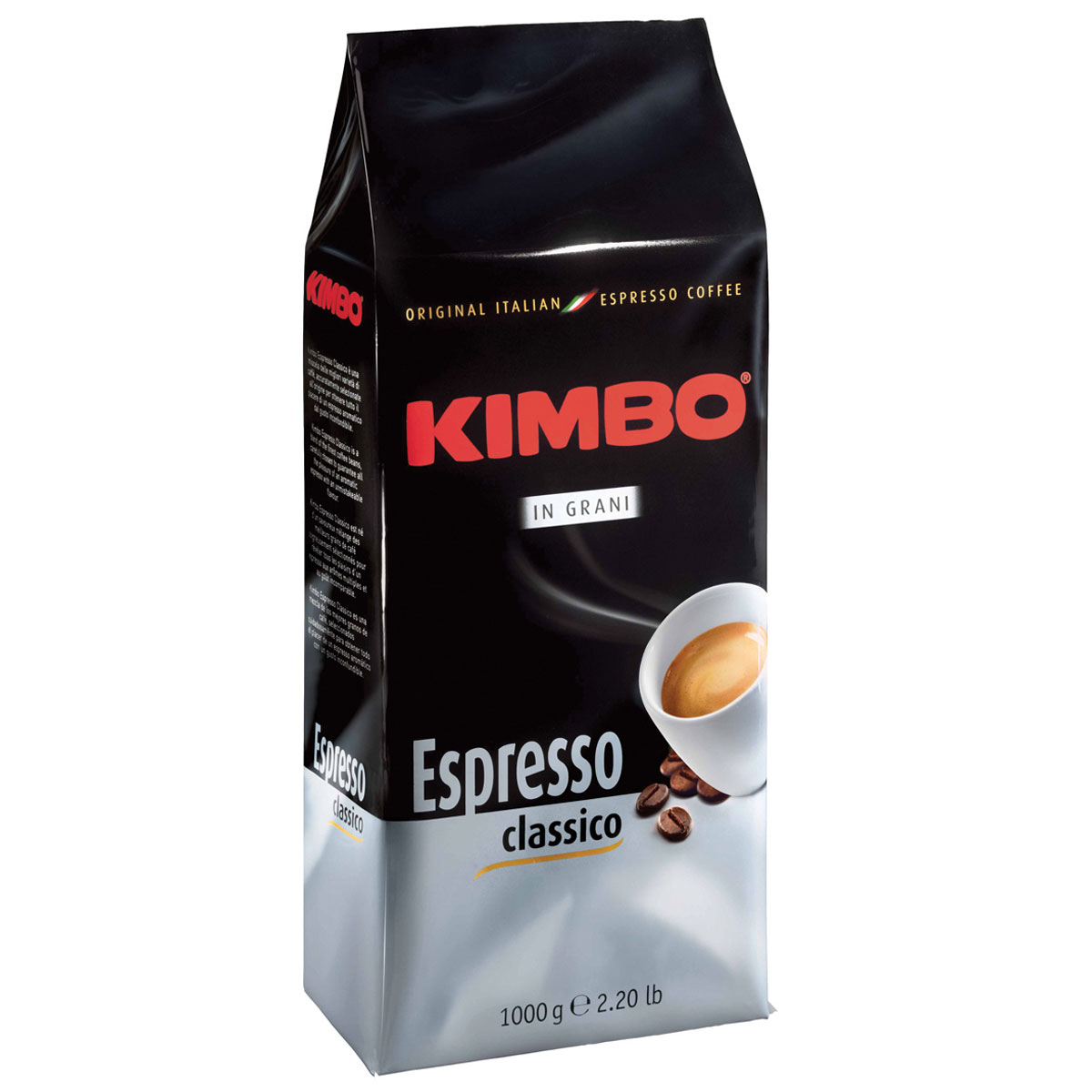 Kimbo Grani кофе в зернах, 1 кг0120710Натуральный жареный кофе в зернах Kimbo Grani. Традиционная неаполитанская смесь арабики и робусты идеальна для любителей крепкого кофе с насыщенным вкусом. Состав смеси: 95% арабика, 5% робуста.