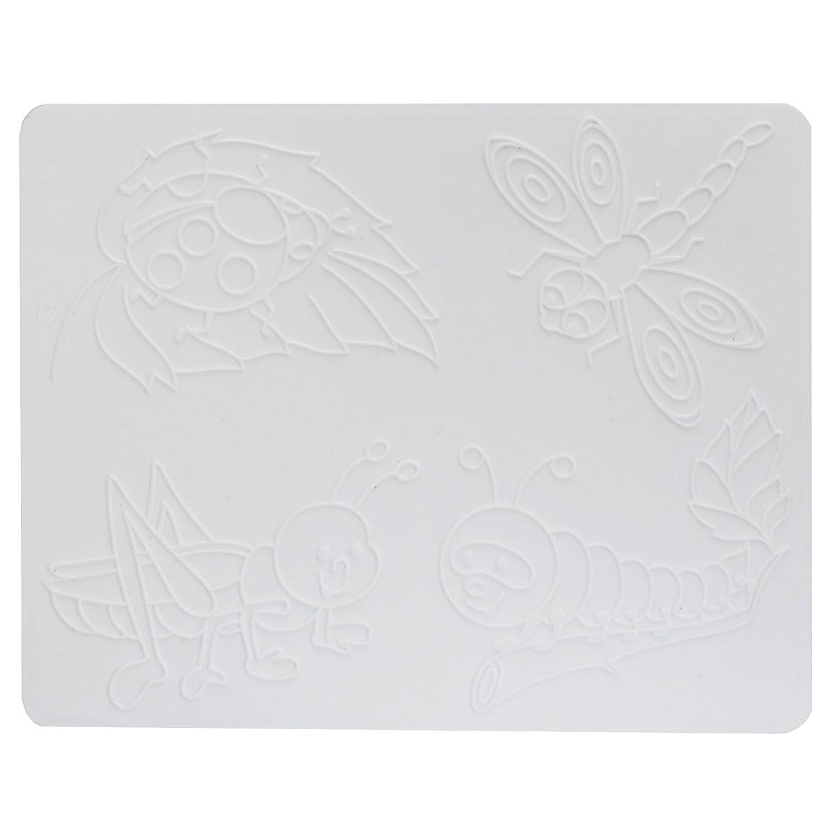 Доска для лепки ЛучPP-301Доска для лепки Луч - многофункциональный атрибут творческой деятельности. Благодаря универсальности материала, доску можно использовать как для защиты стола во время творчества ребенка, например, во время лепки, так и элемент для создания аппликации. Для этого рельефные рисунки переводятся на бумагу, а затем, с помощью пластилина, создается картинка. Доска изготовлена из мягкого пластика и легко отмывается от загрязнений. Доска для лепки Луч поможет ребенку развить творческие способности, воображение и мелкую моторику рук.