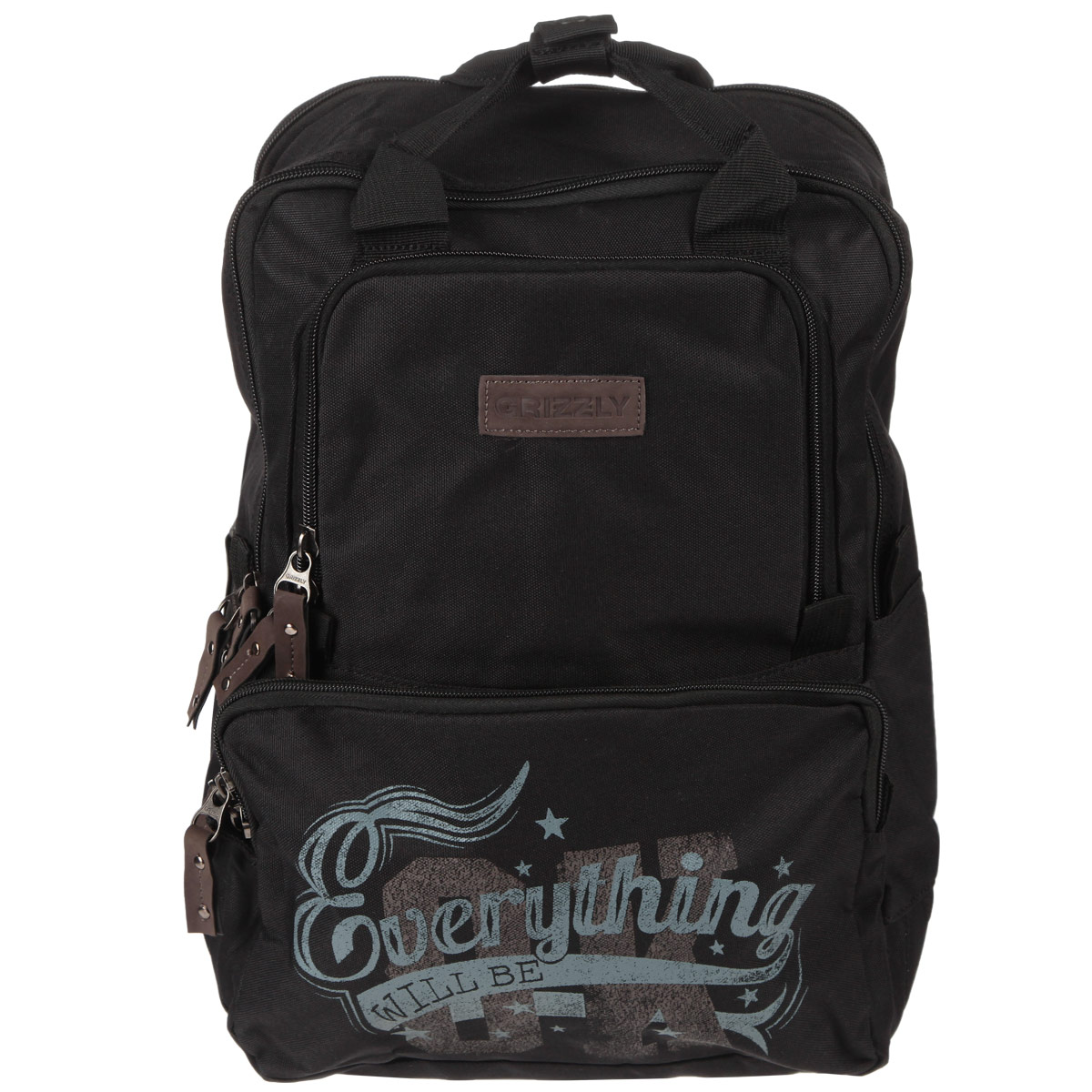 Школьный ранец Grizzly, цвет: салатовый, черный. RU-513-1/285314Молодежный рюкзак с двумя отделениями,одно из которых под ноутбук,закрывающихся на молнию.На передней стенке два объемных кармана,в одном из которых имеется карман-органайзер.Рюкзак также имеет внутренний карман для документов,укрепленные дно,лямки и спинку,две ручки для переноски,скрепляемые кнопкой.