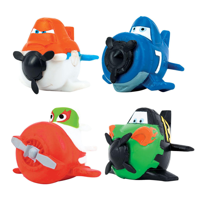Игрушки-мялки Самолеты: Рипслингер, Чупакабра, Дасти, Шкипер самолеты импеллерные art tech