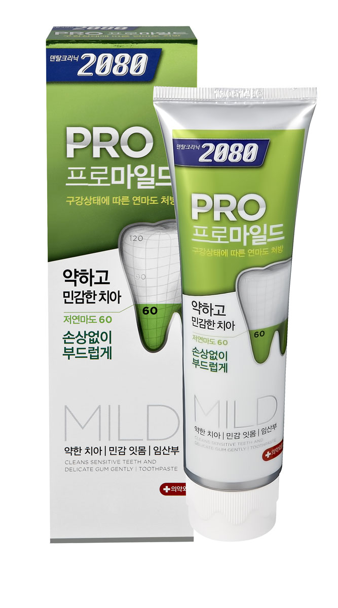 DC 2080 Зубная паста Мягкая защита, для чувствительных зубов и десен, 125 гSC-FM20104Профессиональная зубная паста с низкой степенью абразивности RDA-60 для нежного и бережного ухода за чувствительными зубами и деснами.Изготовлена на основе современного высококачественного абразива диоксида кремния (силики), который не повреждает и не стирает эмаль зубов при чистке. Густая, обильная пена проникает в самые отдаленные уголки полости рта и эффективно удаляет остатки пищи и зубного налета. Подходит для ежедневного применения. Характеристики:Вес: 125 г. Артикул: 898260. Производитель: Корея. Товар сертифицирован. УВАЖАЕМЫЕ КЛИЕНТЫ!Обращаем ваше внимание на возможные изменения в дизайне упаковки. Поставка осуществляется в одном из двух приведенных вариантов упаковок в зависимости от наличия на складе. Комплектация осталась без изменений.