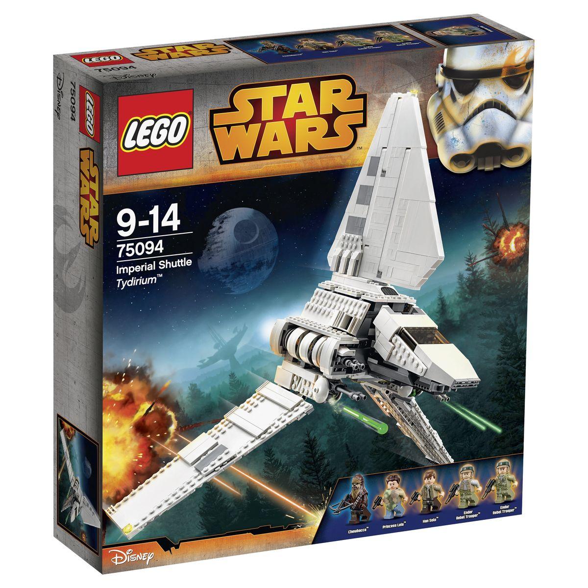 LEGO Star Wars Конструктор Имперский шаттл Тайдириум 75094 lego lego star wars 75094 лего звездные войны имперский шаттл тайдириум