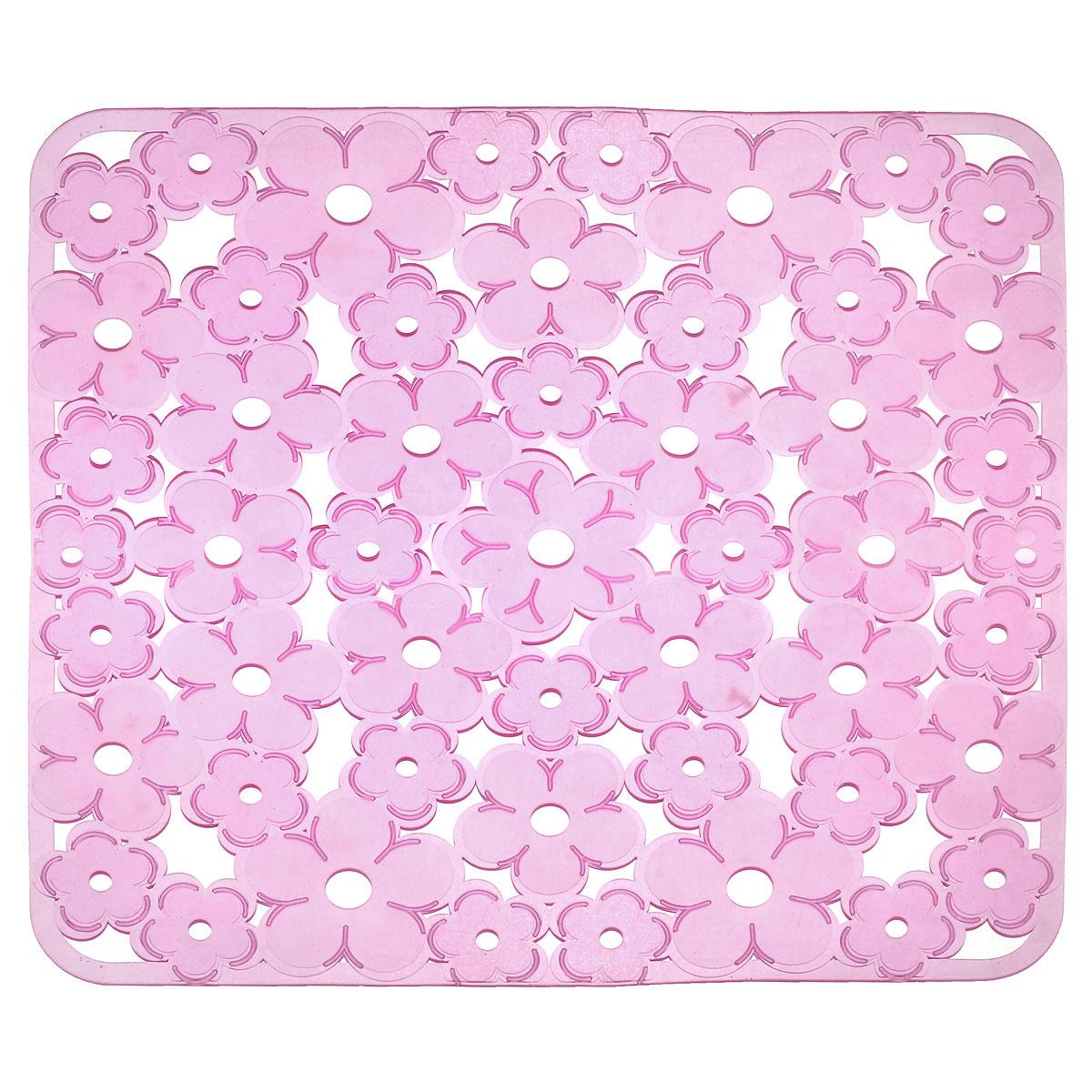Коврик для раковины Metaltex, цвет: розовый, 32 см х 32 см40970Коврик для раковины Metaltex изготовлен из ПВХ с цветочным рисунком. Коврик имеет квадратную форму, поэтому прекрасно подойдет для любых раковин. Такой коврик защитит вашу посуду во время мытья, а также предотвратит засор труб, задерживая остатки пищи. Товар сертифицирован.