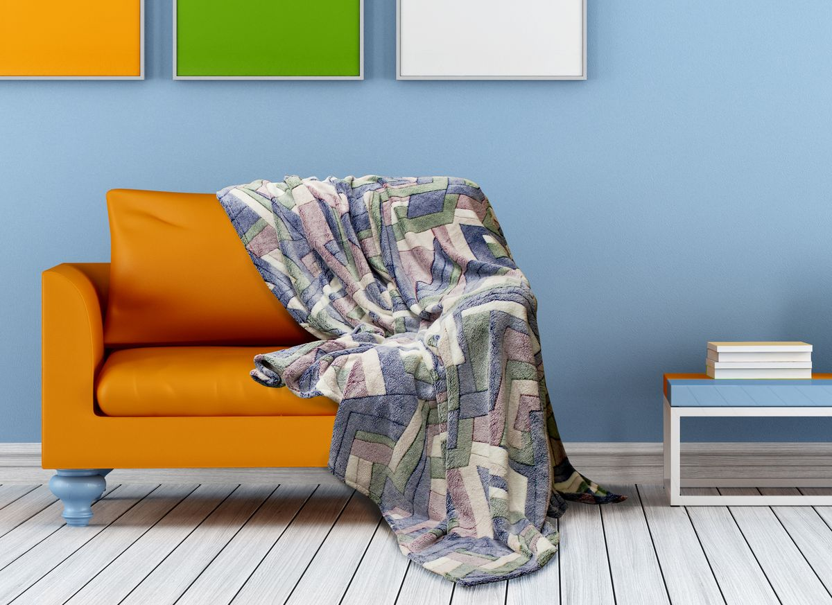 Плед Buenas Noches Bamboo, цвет: синий, зеленый, красный, 200 х 220 смES-412Плед Buenas Noches - это идеальное решение для вашего интерьера! Он порадует вас легкостью, нежностью и оригинальным дизайном! Плед выполнен из 100% полиэстера и оформлен изображением разноцветных камешков. Полиэстер считается одной из самых популярных тканей. Это материал синтетического происхождения из полиэфирных волокон. Изделия из полиэстера не мнутся и легко стираются. После стирки очень быстро высыхают.Плед - это такой подарок, который будет всегда актуален, особенно для ваших родных и близких, ведь вы дарите им частичку своего тепла!Продукция торговой марки Buenas Noches сделана с особой заботой, специально для вас и уюта в вашем доме! Состав: 100% полиэстер.