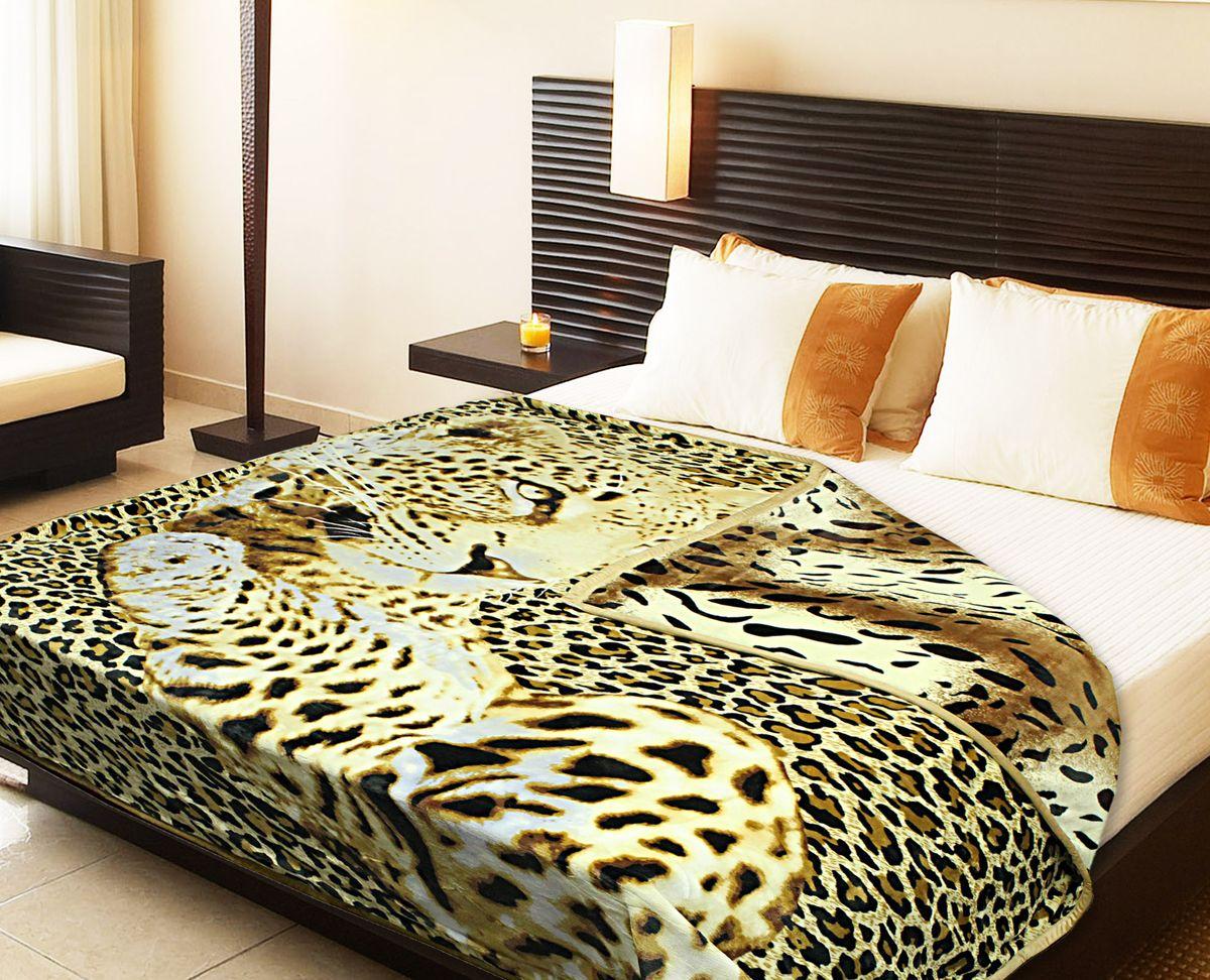 Плед Buenas Noches Фланель. Леопард, цвет: коричневый, белый, черный, 180 см х 220 см520400/101Двухсторонний плед Buenas Noches - это идеальное решение для вашего интерьера! Он порадует вас легкостью, нежностью и разноплановыми дизайнами с двух сторон: одна сторона оформлена изображением леопарда, а другая - стилизованным принтом под окрас тигра! Плед выполнен из 100% полиэстера. Полиэстер считается одной из самых популярных тканей. Это материал синтетического происхождения из полиэфирных волокон. Изделия из полиэстера не мнутся и легко стираются. После стирки очень быстро высыхают.Плед - это такой подарок, который будет всегда актуален, особенно для ваших родных и близких, ведь вы дарите им частичку своего тепла!Продукция торговой марки Buenas Noches сделана с особой заботой, специально для вас и уюта в вашем доме!