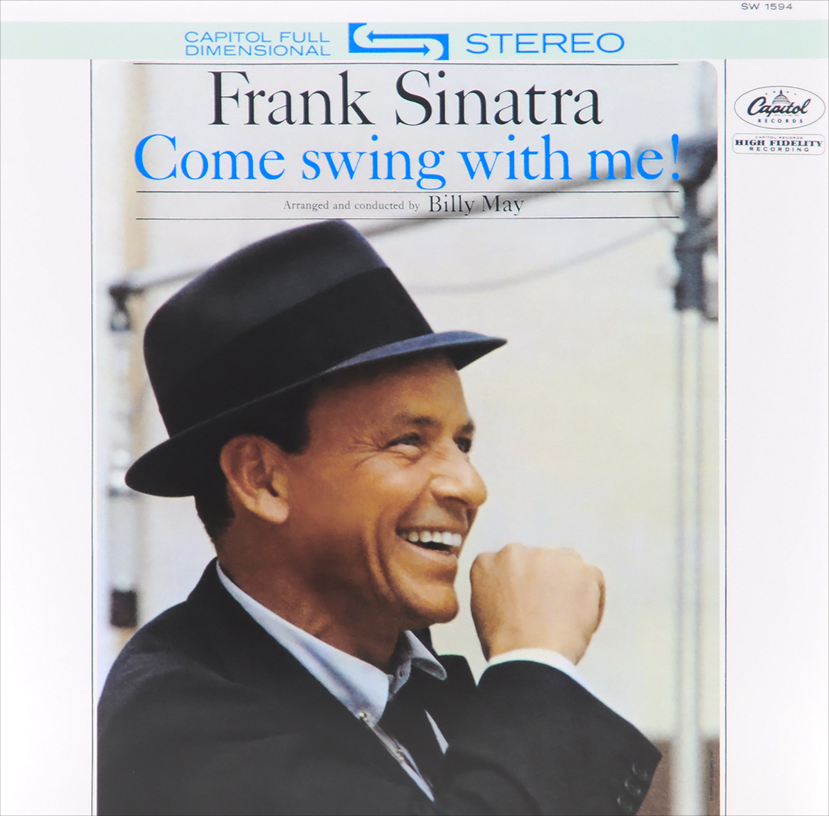 цены на Фрэнк Синатра Frank Sinatra. Come Swing With Me! (LP) в интернет-магазинах