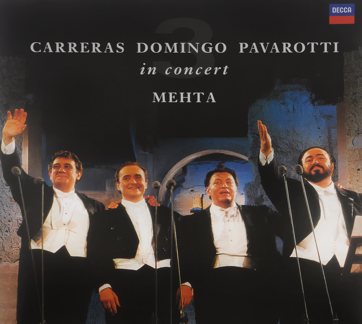 Orchestra Del Maggio Musicale Fiorentino,Orchestra E Coro Del Teatro Dell'Opera Di Roma Carreras. Domingo. Pavarotti. Mehta. Three Tenors. 25th Anniversary Edition (LP) sahoo 45545 outdoor cycling polyester arm sleeves white green pair xxl