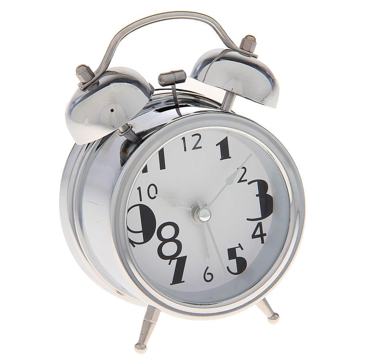 Часы-будильник Sima-land. 720815MRC 4119 P schwarzКак же сложно иногда вставать вовремя! Всегда так хочется поспать еще хотя бы 5 минут и бывает, что мы просыпаем. Теперь этого не случится! Яркий, оригинальный будильник Sima-land поможет вам всегда вставать в нужное время и успевать везде и всюду. Время показывает точно и будит в установленный час. Будильник украсит вашу комнату и приведет в восхищение друзей. На задней панели будильника расположены переключатель включения/выключения механизма и два колесика для настройки текущего времени и времени звонка будильника. Также будильник оснащен кнопкой, при нажатии и удержании которой, подсвечивается циферблат.Будильник работает от 1 батарейки типа AA напряжением 1,5V (не входит в комплект).