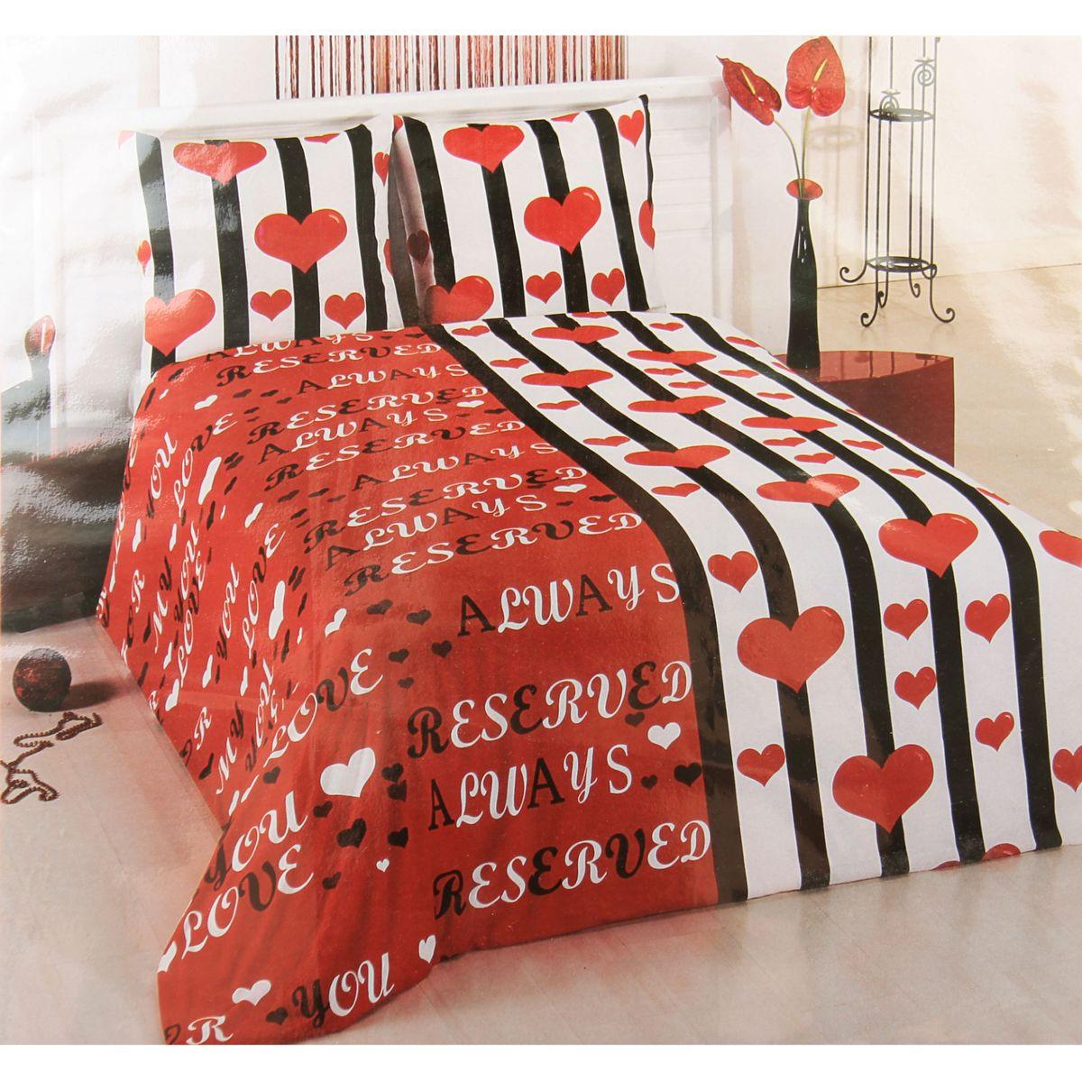 Комплект белья ANTALYA, 1,5-спальный, наволочки 70x70. 824695CA-3505произведено из высококачественного турецкого хлопка, простынка на резинке, пододеяльник и наволочки на замке