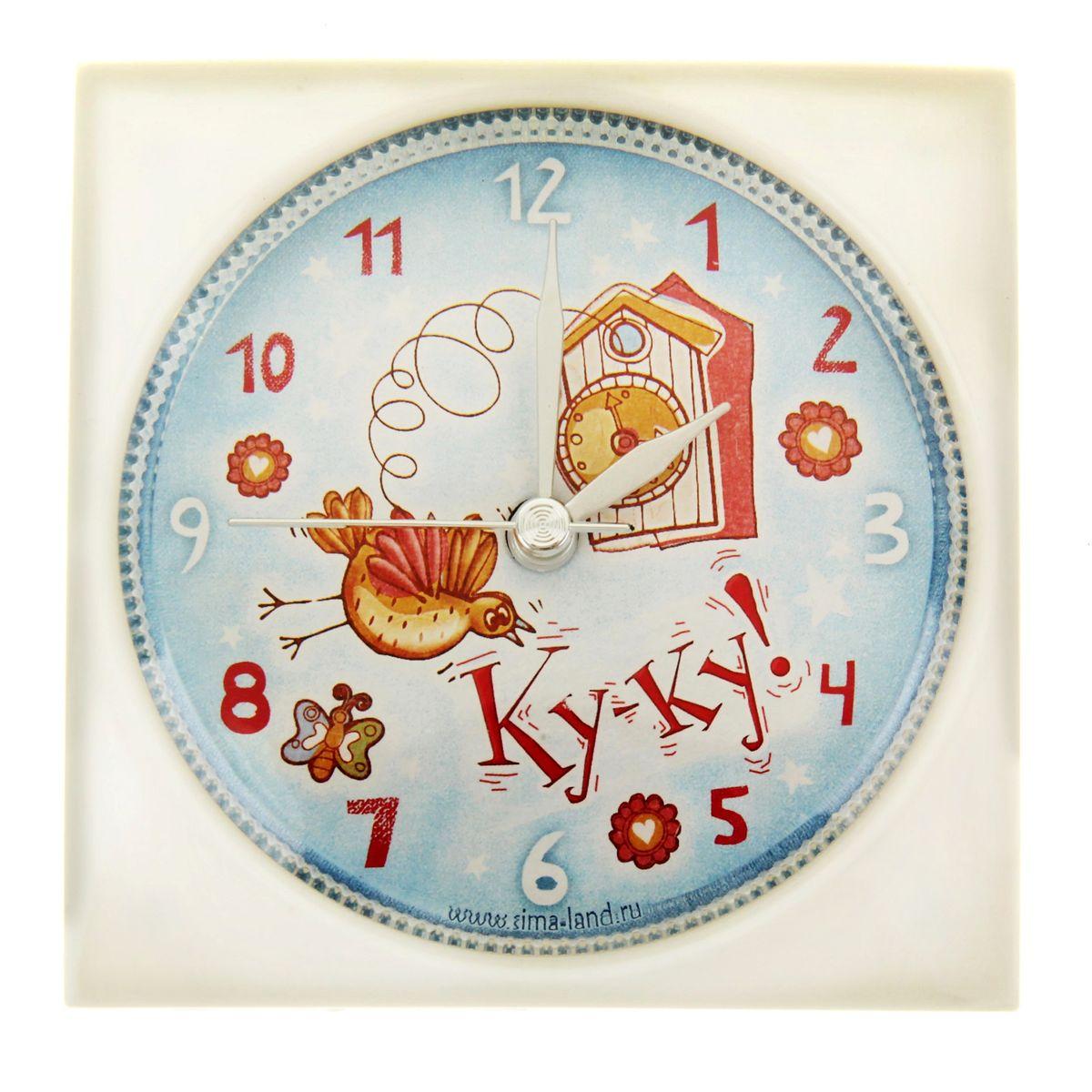 Часы-будильник Sima-land КукушкаFA-2409-1-RF GreyКак же сложно иногда вставать вовремя! Всегда так хочется поспать еще хотя бы 5 минут и бывает, что мы просыпаем. Теперь этого не случится! Яркий, оригинальный будильник Sima-land Кукушка поможет вам всегда вставать в нужное время и успевать везде и всюду. Будильник украсит вашу комнату и приведет в восхищение друзей. Время показывает точно и будит в установленный час.На задней панели будильника расположены переключатель включения/выключения механизма, а также два колесика для настройки текущего времени и времени звонка будильника. Будильник работает от 1 батарейки типа AA напряжением 1,5V (не входит в комплект).