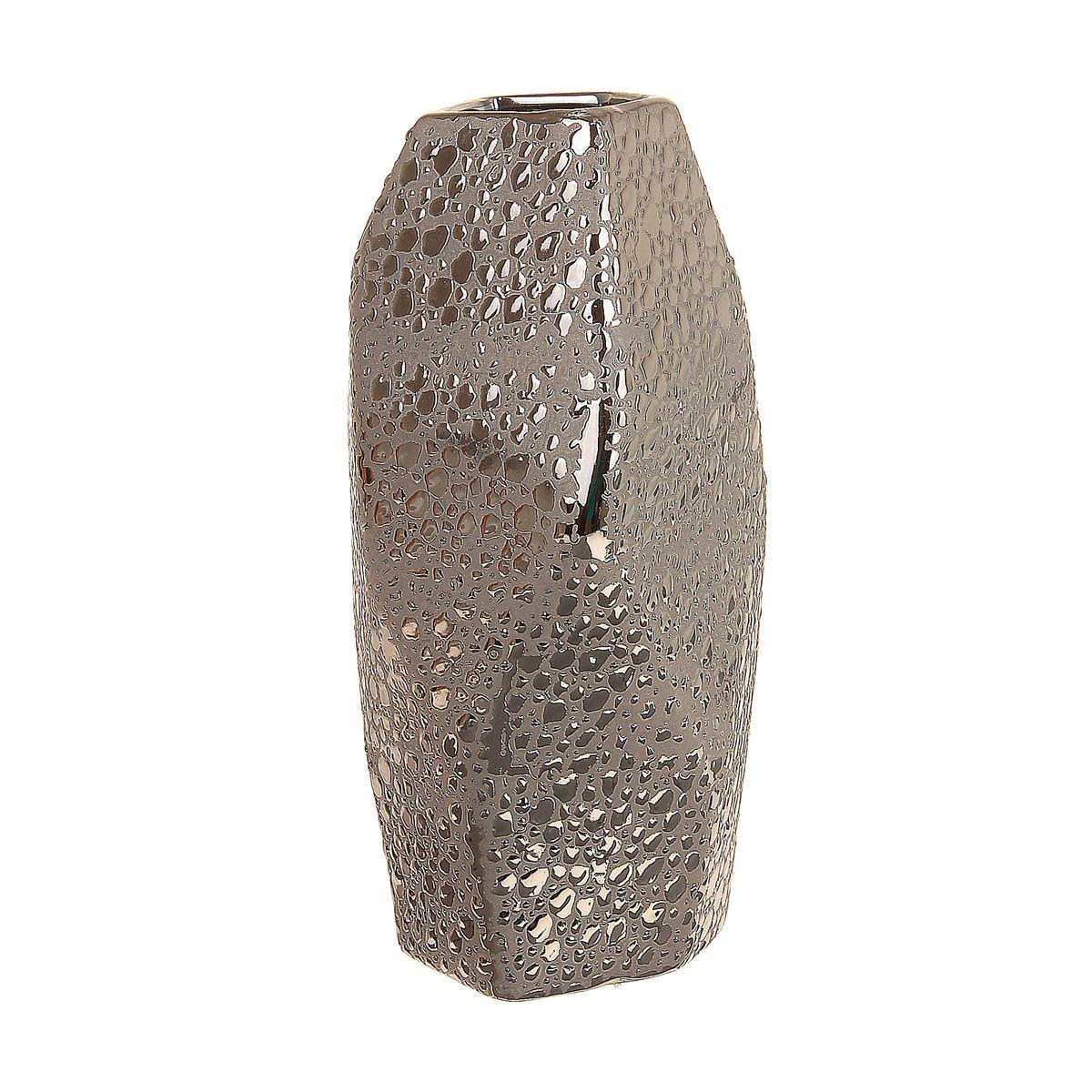 Ваза Sima-land Изгиб, высота 23,5 смFS-80299Ваза Sima-land Изгиб изготовлена из прочной керамики. Интересная форма и необычное оформление сделают эту вазу замечательным украшением интерьера. Она предназначена как для живых, так и для искусственных цветов. Основание оснащено противоскользящими накладками.Любое помещение выглядит незавершенным без правильно расположенных предметовинтерьера. Они помогают создать уют, расставить акценты, подчеркнуть достоинства или скрытьнедостатки.