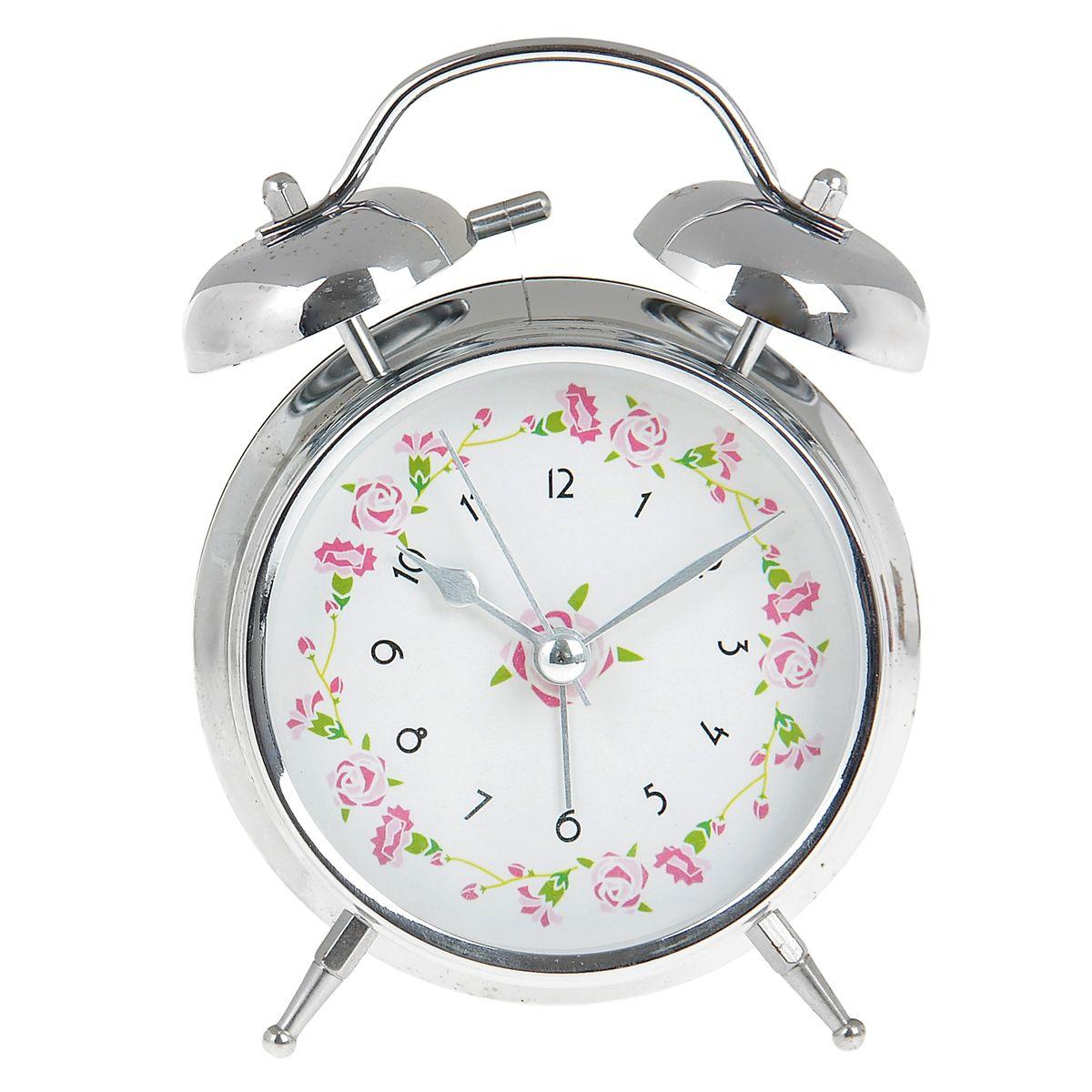 Часы-будильник Sima-land. 906609845897Как же сложно иногда вставать вовремя! Всегда так хочется поспать еще хотя бы 5 минут и бывает, что мы просыпаем. Теперь этого не случится! Яркий, оригинальный будильник Sima-land поможет вам всегда вставать в нужное время и успевать везде и всюду. Время показывает точно и будит в установленный час. Будильник украсит вашу комнату и приведет в восхищение друзей. На задней панели будильника расположены переключатель включения/выключения механизма и два колесика для настройки текущего времени и времени звонка будильника. Также будильник оснащен кнопкой, при нажатии и удержании которой, подсвечивается циферблат.Будильник работает от 2 батареек типа AA напряжением 1,5V (не входят в комплект).