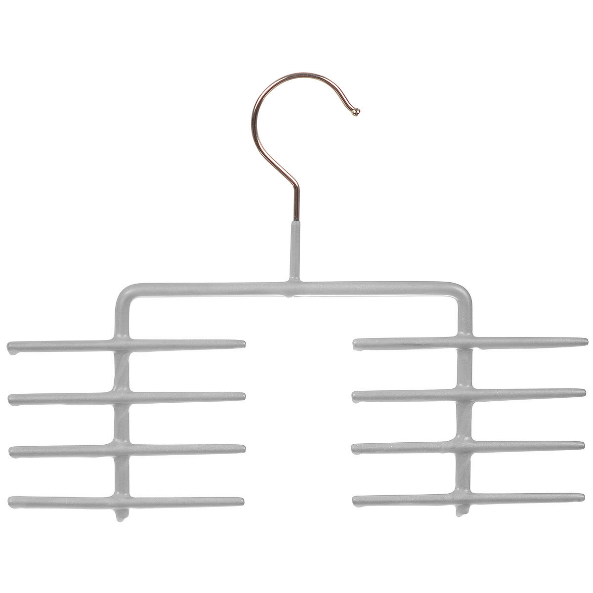 Вешалка для галстуков Cosatto, цвет: серыйCOVLPA6101_серыйВешалка для галстуков Cosatto изготовлена из металла с антискользящим покрытием. Имеет 8 перекладин для галстуков, шарфов и других аксессуаров. Вешалка - это необходимый аксессуар для аккуратного хранения вещей.