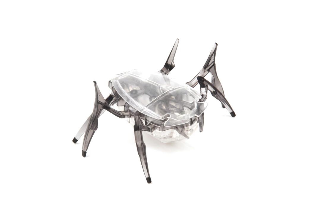 Микро-робот Hexbug Scarab, цвет: черный deskpets микро робот скитербот цвет зеленый