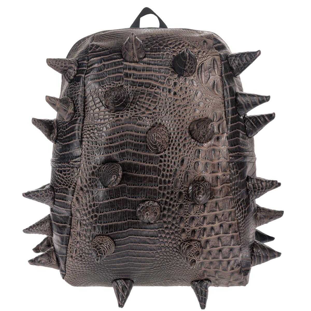Рюкзак городской MadPax Gator Half, цвет: коричневый, 16 л
