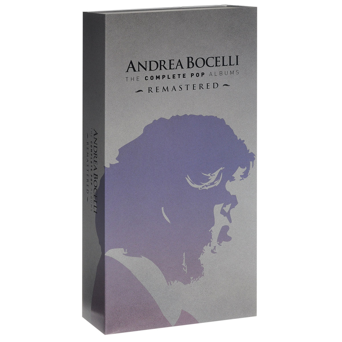 книги на английском языке elementary Андреа Бочелли Andrea Bocelli. The Complete Pop Albums (16 CD)