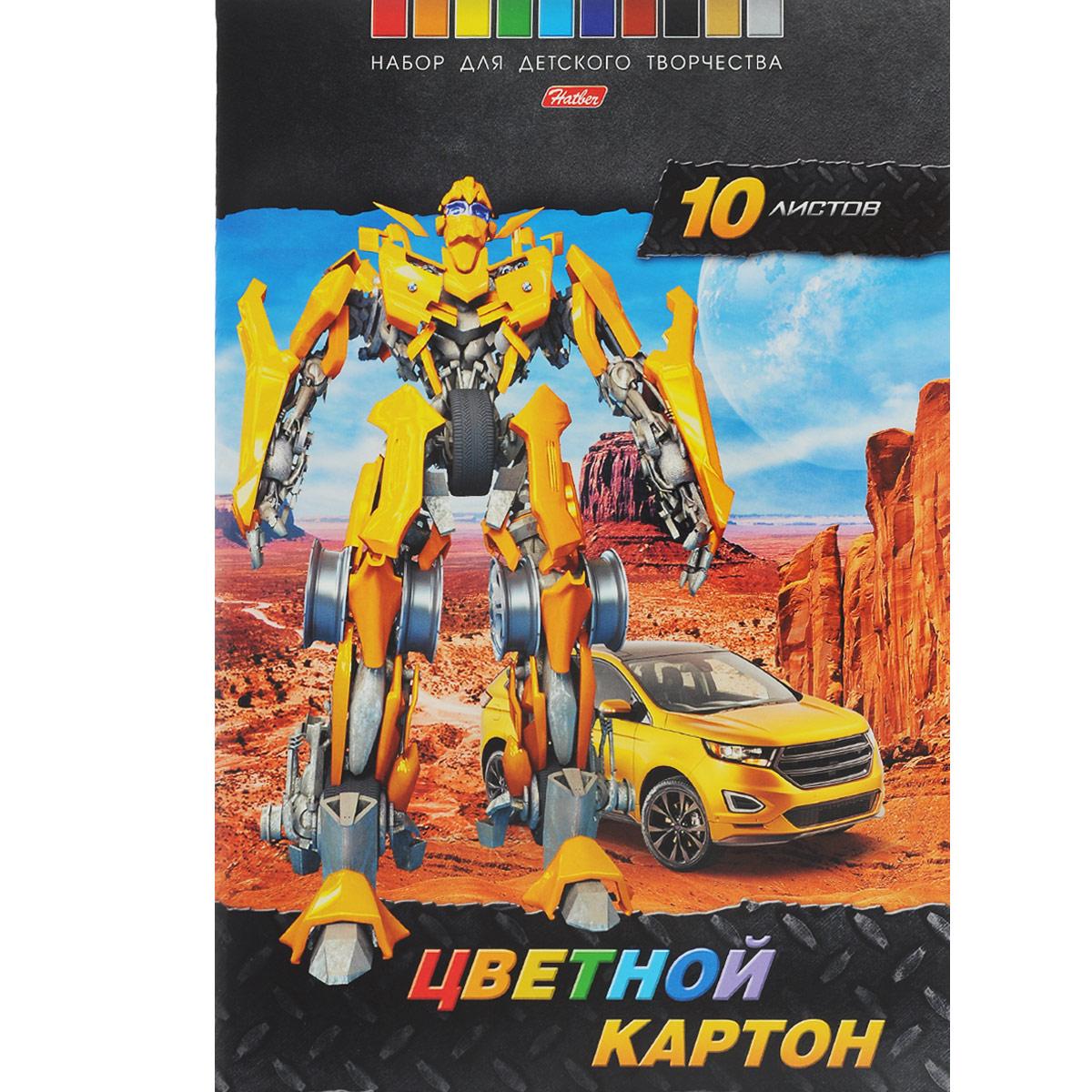 Картон цветной Hatber: Трансформер, 10 цв, формат А410Кц4_13021Картон цветной Hatber: Трансформер позволит создавать всевозможные аппликации и поделки. Набор включает 10 листов одностороннего цветного картона формата А4. Цвета: золотистый, синий, серебристый, красный, зеленый, желтый, голубой, оранжевый, коричневый, черный. Создание поделок из цветного картона позволяет ребенку развивать творческие способности, кроме того, это увлекательный досуг.