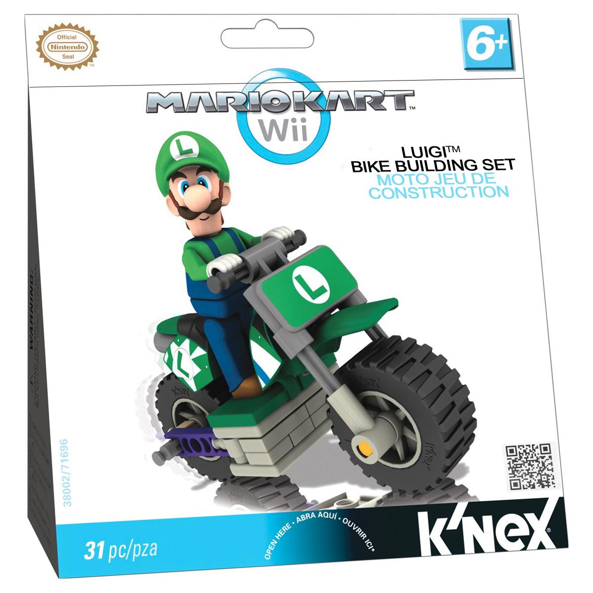 K'NEX Конструктор Транспорт Mario цвет зеленый игровая консоль nintendo switch red super mario odyssey