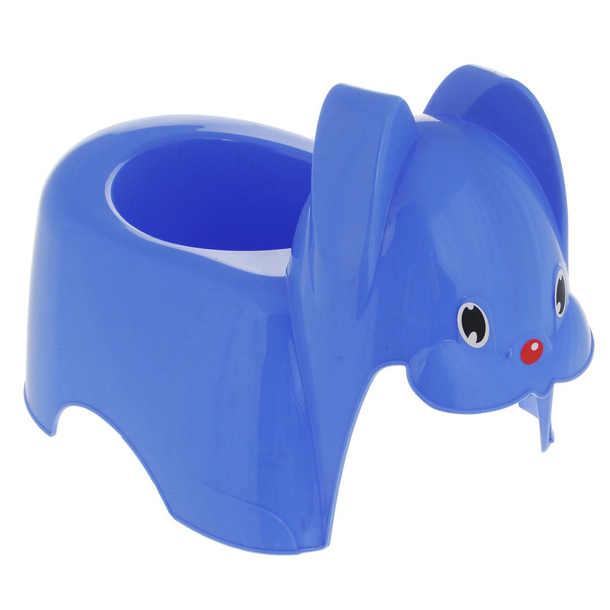 Горшок детский М-пластика  Зайка , цвет: сиреневый -  Горшки и адаптеры для унитаза