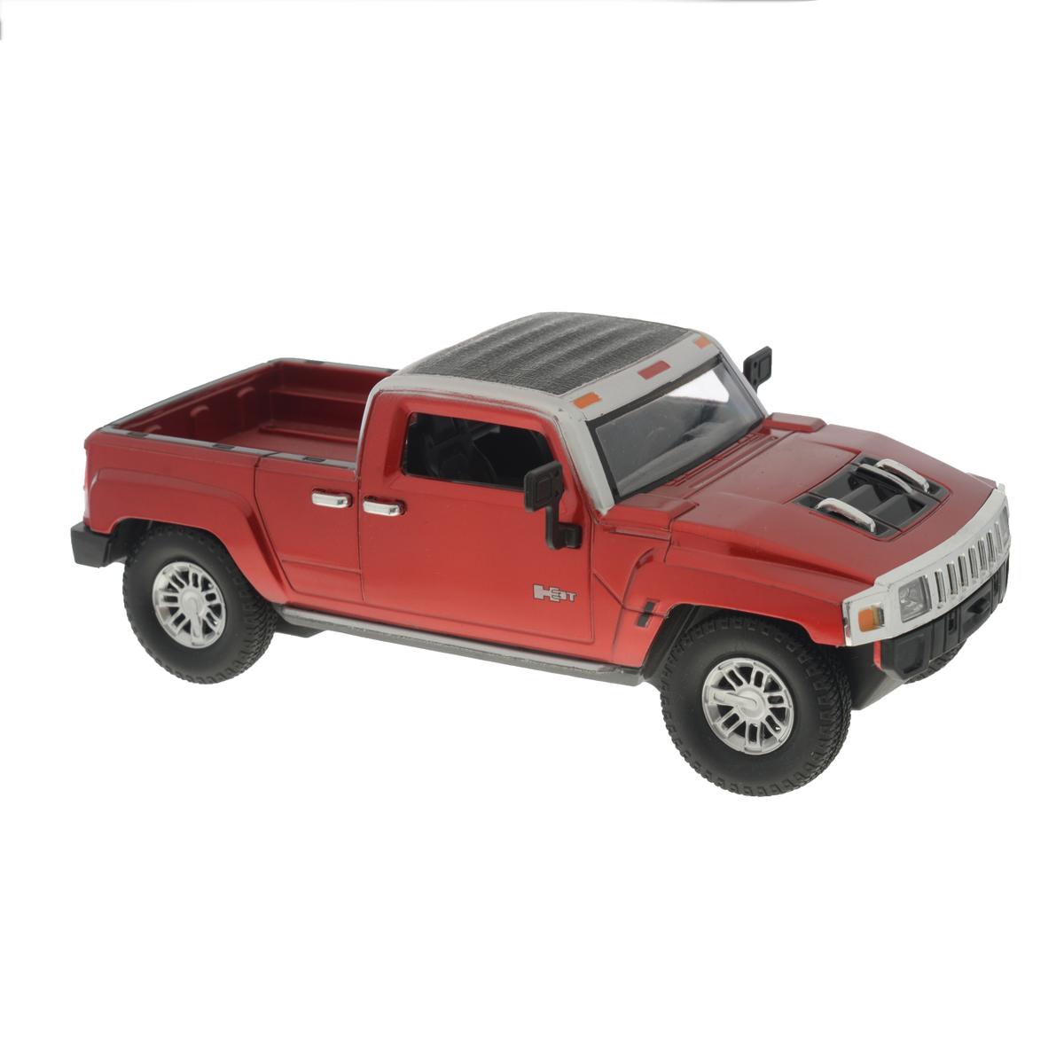 Guokai Машинка инерционная Hummer цвет красный пламенный мотор машинка инерционная volvo пожарная охрана