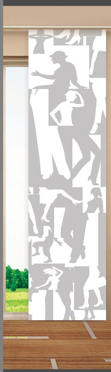 Японская панель Garden, цвет: белый, серый, 60 х 270 см V389VT-1840-BKЯпонская панель Garden выполнена из 100% полиэстера с красивым рисунком. Такая панель сможет заменить обычные шторы и оригинально украсить любой интерьер - от классики до авангарда. Она будет отлично смотреться как в просторных помещениях с большими окнами, так и в маленьких комнатах. Кроме того, такие панели позволяют оформлять не только оконные и дверные проемы, но и могут выступать в качестве декоративных перегородок: для отделения рабочей зоны, спального места, кухни и т.д. Преимущество данных панелей в том, что они, как и жалюзи, занимают мало места. Конструкция позволяет их легко монтировать и снимать. Внизу панель закреплена специальным утяжелителем, а вверху карнизным держателем. Для подвешивания японских панелей необходим специальный карниз. Он представляет собой алюминиевый профиль с несколькими рядами (до 10 рядов). Панель крепится на направляющую при помощи липучки. Такое крепление позволяет очень быстро и легко менять панели на другие. На один карниз можно подвесить несколько панелей.Для современного городского интерьера, избавленного от лишних деталей и вычурного декора, как нельзя лучше подойдут японские панели. Они станут не только украшением интерьера, привлекая к себе внимание, но и помогут создать в помещении романтическую теплую атмосферу, рассеивая яркий солнечный свет, приглушая общее освещение комнаты. Разнообразие цветов, текстур и материалов позволяет подобрать подходящие композиции для любого интерьера. В комплект входит: - Римская панель - 1 шт. Размер: 60 см х 270 см.